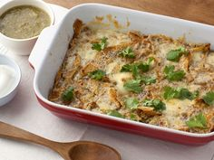 Chile Cheese Casserole recipe from Food Network Kitchen via Food Network