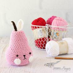 Pear-fect Crochet - A Spoonful of Sugar