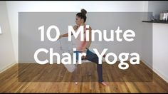 Learn how exercise can help you reduce stress. This post has some quick yoga and pilates videos to inspire you to get started. Bikram Yoga, Ashtanga Yoga, Iyengar Yoga, Pilates, Yoga For Seniors, Chair Exercises, Stretching Exercises, Stretches, Balance Exercises