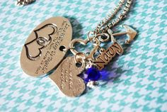 Navy Love Will Keep Us Together Charm Holder by MyTinyTemptations, $19.99 lovvvvvvvvvvvvvvvvvvvvvvvvvvvvvvvve this!