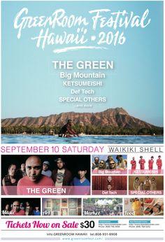 Greenroom Festival Hawaii 2016 - http://fullofevents.com/hawaii/event/greenroom-festival-hawaii-2016/