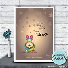 Lilipops - Poster - Instant Download - Printable - Kawaii - Quote Print - Printable - Wall Art - Inspirational Quote - Fun - Cute - Digital