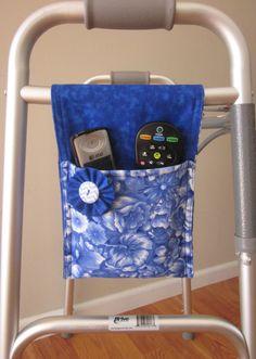 Royal Garden Walker Bag Mini Fits Walker, Hemi-Walker, Rollator, Or Stroller!