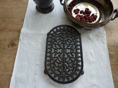 Cast Iron Trivet by gardenofsimples on Etsy