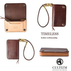 #Timeless_Leather_Craftsmanship Vintage Wallet Brownow.ly/EQZcg