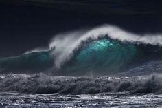 wave at night
