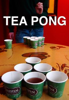 This is a drinking game I could win.  I bet I can drink more tea than you!