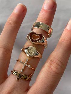 Nail Jewelry, Cute Jewelry, Gold Jewelry, Jewelery, Jewelry Accessories, Jewelry Rings, Trendy Jewelry, Luxury Jewelry, Hermes Jewelry