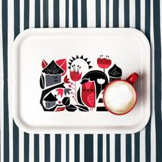 Tray Goldfinch by Darling Clementine