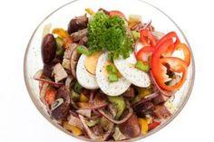 Cobb Salad, Healthy Recipes, Healthy Food, Potato Salad, Brunch, Food And Drink, Low Carb, Potatoes, Beef