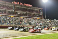 The Lucas Oil Speedway is one of 36 tracks where Lucas Oil Late Model Dirt Series events are held.
