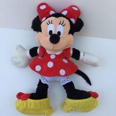 Walt Disney World Classic Plush Minnie Mouse Stuffed Animal Doll Lovey Plush Dolls, Doll Toys, Disney Toys, Walt Disney World, Minnie Mouse, Teddy Bear, Stuffed Toy, Classic, Animals