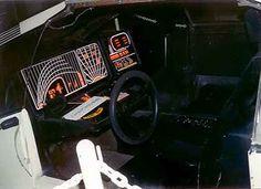 Blade Runner - screen used Deckard Sedan interior