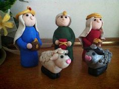 Then she made...: Nativity Show and Tell  Add to my Christmas collection.