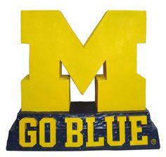University of Michigan Sculpted Logo Mascot