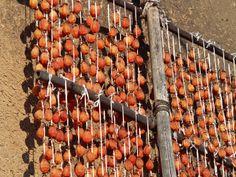 干し柿の炊き込みご飯