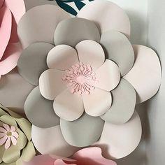 PDF Paper Flower Template with Base DIGITAL version Original
