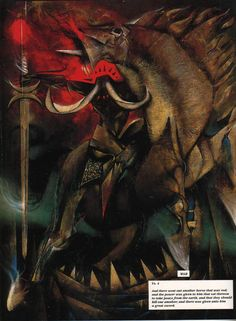 Dave McKean (1963- ) - Four Horsemen of the Apocalypse: War -