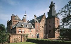 Mijn trouwlokatie!!! 05-06-1993 Castle Doorwerth, between Wageningen and Arnhem, the Netherlands