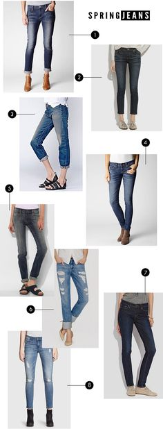 The Best Jeans for Spring + Summer 2014