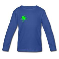 Spider on my shoulder kids long sleeve t-shirt ~ 1038