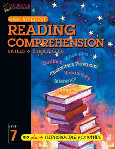 Reading comprehension skills and strategies level 7 Develop your reading skills English Grammar Book, English Language Learning, English Book, English Lessons, English Vocabulary, Teaching English, Learn English, English File, Primary English