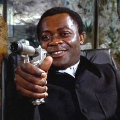 Yaphet Kotto as Kananga in Live and Let Die (Guy Hamilton, 1973).