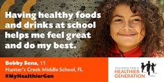See how our work is making communities healthier for kids across the nation Healthy Kids, Healthy Recipes, Childhood Obesity, Feeling Great, Kids Learning, Middle School, Monkey, Food And Drink, Success