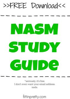 how to study for nasm