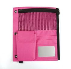Shop Staples® for Staples® Full Binder Pencil Pouch, Pink- $7.29 each