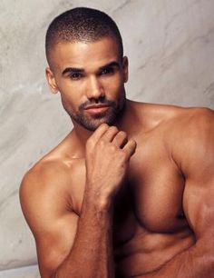 Shemar Moore.  All the pet names Garcia has for him fit all so well!