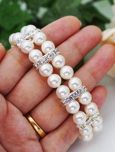 Wedding jewelry bridal bracelet