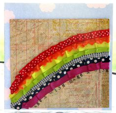 rainbow scrapbook layouts - Google Search
