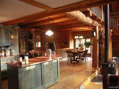 Log Cabin Interiors | desire to inspire - desiretoinspire.net - Reader request - log homes