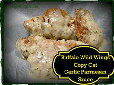 Buffalo Wild Wings Copy Cat Garlic Parmesan Sauce Recipe ~ Make the Best at Home! (the only reason i eat at BWW is the garlic parmesan sauce) Copycat Recipes, Sauce Recipes, New Recipes, Cooking Recipes, Favorite Recipes, Fondue Recipes, Korean Recipes, Quick Recipes, Yummy Recipes