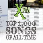 Over Christmas and New Year 2009, indie radio station XFM counted down their top 1,000 songs of all time.