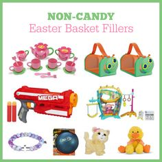 Non-Candy Easter Basket Ideas - Musings of a Housewife