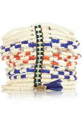 Isabel Marant bracelet. With a white dress in summer!