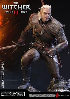 If that's what it takes to save the world, it's better to let that world die.  Prime 1 Studio and CD PROJEKT RED are proud to present Geralt of Rivia from The Witcher 3: Wild Hunt.  Geralt, a monster