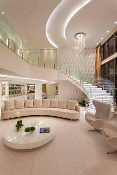 Home Room Design, Dream Home Design, Modern House Design, Home Interior Design, Dream House Interior, Luxury Homes Dream Houses, Modern Mansion Interior, Luxury Homes Interior, Elegant Home Decor