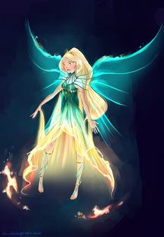 """princeivy-storybook: """"almost-magical: """"Winxclub character designs in Almost Magical (just royalty here) Winxclub fan transformation, Ultimix. ( Trying to get over the cheesy name.) This fan transformation is exclusively for. Fantasy Characters, Cartoon Characters, Daphne Winx, Winx Magic, Character Art, Character Design, Les Winx, Bloom Winx Club, Fan Art"""