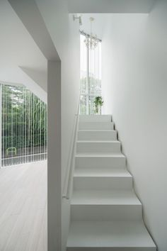 Life in spiral / Hideaki Takayanagi #white #simple