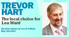 Congratulations Trevor Hart | Fylde Election Winner 3rd May 2012 Lea & Cottam