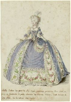 Just as there was a shade of fabric named after Marie-Antoinette's hair, the color of Louis' eyes was likewise honored.