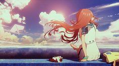 Anime art. Nagi no Asukara. Kawaii