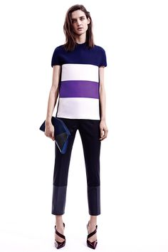 Style.com Editors Weigh In on Pre-Fall 2014 Trends  color-blocking NARCISO RODRIGUEZ