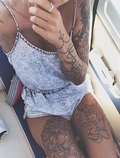 .Sexy tattoo for girls #girls #tattoo