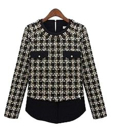 Women Fall Wild Retro Plaid Shoulder Pads Bottoming Sleeved Chiffon Shirt by Fengbay Take for me to see Women Fall Wild Retro Plaid Shoulder Pads Bottoming Sleeved Chiffon Shirt Review You probably can obtain any products and Women Fall Wild Retro Plaid Shoulder Pads Bottoming Sleeved Chiffon Shirt at the Best Price Online with Secure …