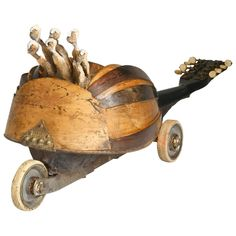 Mandolinmobile | From a unique collection of antique and modern outsider and self taught art at https://www.1stdibs.com/furniture/folk-art/outsider-self-taught-art/