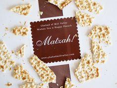 Matzah Favors for Passover | Evermine Blog | www.evermine.com